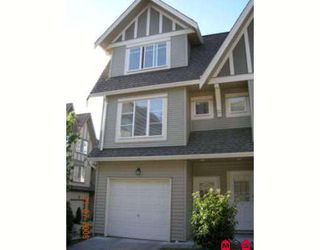 "Photo 1: 71 15175 62A Avenue in Surrey: Sullivan Station Townhouse for sale in ""Brooklands"" : MLS®# F2825795"