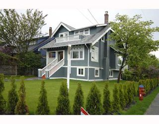 Main Photo: 2405 COLLINGWOOD Street in Vancouver: Kitsilano House Triplex for sale (Vancouver West)  : MLS®# V746372