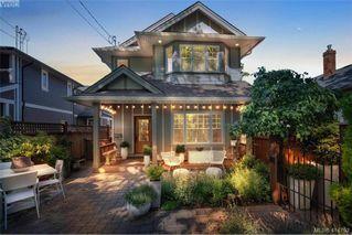 Main Photo: A 2746 Shelbourne St in VICTORIA: Vi Oaklands Half Duplex for sale (Victoria)  : MLS®# 822722