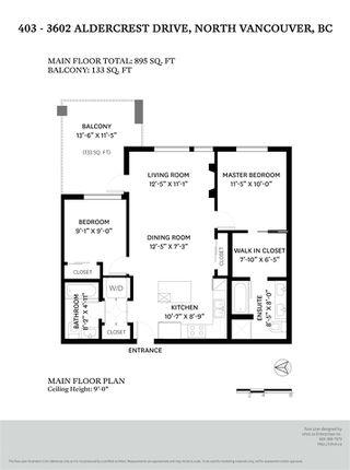 """Photo 29: 403 3602 ALDERCREST Drive in North Vancouver: Roche Point Condo for sale in """"Destiny 2"""" : MLS®# R2457674"""