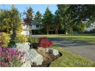 Photo 1: 7956 Arthur Dr in SAANICHTON: CS Turgoose House for sale (Central Saanich)  : MLS®# 535828