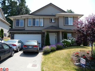 Photo 1: 30452 HERITAGE Drive in Abbotsford: Abbotsford West House for sale : MLS®# F1019613