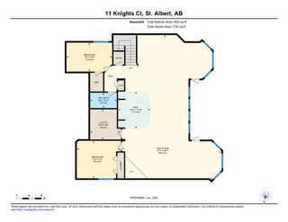 Photo 49: 11 KNIGHTS Court: St. Albert House for sale : MLS®# E4185540