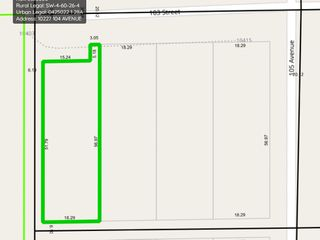 Photo 3: 10403 103 Street: Westlock Vacant Lot for sale : MLS®# E4213002