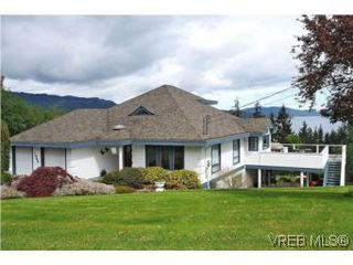 Photo 1: 1560 Sylvan Place in NORTH SAANICH: NS Lands End Single Family Detached for sale (North Saanich)  : MLS®# 277783