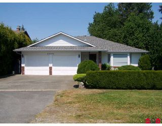 Photo 1: 34695 PRIOR Avenue in Abbotsford: Abbotsford East House for sale : MLS®# F2819898