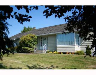 Photo 1: 4811 36TH Avenue in Ladner: Ladner Rural House for sale : MLS®# V724583