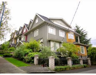 """Photo 1: 2251 CAROLINA Street in Vancouver: Mount Pleasant VE Townhouse for sale in """"CAROLINA ON 7TH"""" (Vancouver East)  : MLS®# V766943"""