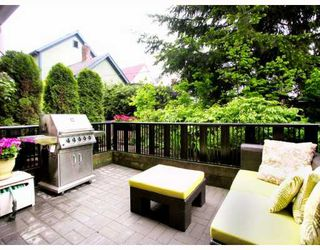 """Photo 5: 2251 CAROLINA Street in Vancouver: Mount Pleasant VE Townhouse for sale in """"CAROLINA ON 7TH"""" (Vancouver East)  : MLS®# V766943"""