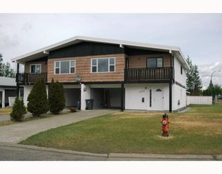 Photo 1: 4204 QUENTIN Avenue in Prince_George: Lakewood House Duplex for sale (PG City West (Zone 71))  : MLS®# N193049