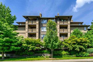 Photo 1: 211 808 SANGSTER Place in New Westminster: The Heights NW Condo for sale : MLS®# R2408219