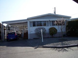 "Photo 1: 48 31313 LIVINGSTONE Avenue in Abbotsford: Abbotsford West Manufactured Home for sale in ""PARADISE PARK"" : MLS®# R2448880"