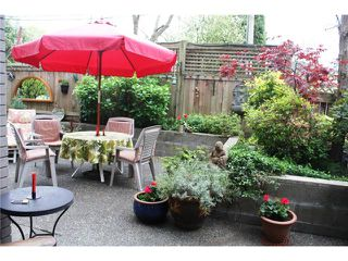 "Photo 10: 105 838 W 16TH Avenue in Vancouver: Cambie Condo for sale in ""WILLOW SPRINGS"" (Vancouver West)  : MLS®# V823923"