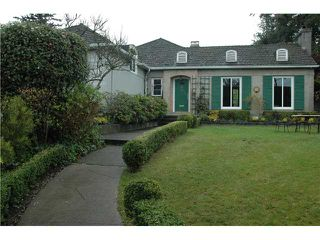 Photo 1: 1511 W 40TH Avenue in Vancouver: Shaughnessy House for sale (Vancouver West)  : MLS®# V825187
