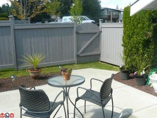 "Photo 10: 38 26970 32ND Avenue in Langley: Aldergrove Langley Townhouse for sale in ""Parkside Village"" : MLS®# F1013794"