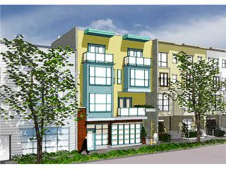 """Photo 1: 206 3736 COMMERCIAL Street in Vancouver: Victoria VE Townhouse for sale in """"Element"""" (Vancouver East)  : MLS®# V855188"""