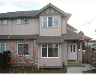 Photo 1: 1054 DELESTRE Avenue in Coquitlam: Maillardville House 1/2 Duplex for sale : MLS®# V750137