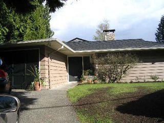 Photo 1: 3404 Ayr Avenue: House for sale (Capilano Highlands)