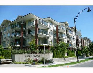 "Photo 1: 118 100 CAPILANO Road in Port_Moody: Port Moody Centre Condo for sale in ""SUTER BROOK"" (Port Moody)  : MLS®# V738908"