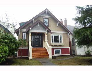 Photo 1: 351 W 22ND Avenue in Vancouver: Cambie House for sale (Vancouver West)  : MLS®# V749785
