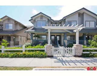 "Photo 1: 75 19250 65TH Avenue in Surrey: Clayton Townhouse for sale in ""Sunberry Court"" (Cloverdale)  : MLS®# F2914033"