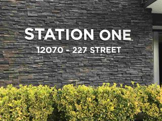 "Photo 2: 310 12070 227 Street in Maple Ridge: East Central Condo for sale in ""STATION ONE"" : MLS®# R2413180"