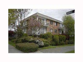 "Photo 1: 311 2080 MAPLE Street in Vancouver: Kitsilano Condo for sale in ""MAPLE MANOR"" (Vancouver West)  : MLS®# V818681"