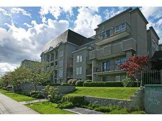 "Photo 1: 212 1669 GRANT Avenue in Port Coquitlam: Glenwood PQ Condo for sale in ""THE CHARLESTON"" : MLS®# V858585"