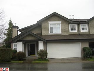 "Photo 1: 1 14877 33RD Avenue in Surrey: King George Corridor Townhouse for sale in ""Sandhurst"" (South Surrey White Rock)  : MLS®# F1100293"