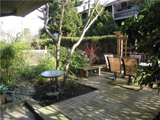"""Photo 5: 110 1424 WALNUT Street in Vancouver: Kitsilano Condo for sale in """"WALNUT PLACE"""" (Vancouver West)  : MLS®# V866925"""