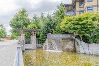 "Photo 1: 115 4977 SPRINGS Boulevard in Tsawwassen: Tsawwassen North Condo for sale in ""TSAWWASSEN SPRINGS"" : MLS®# R2470270"