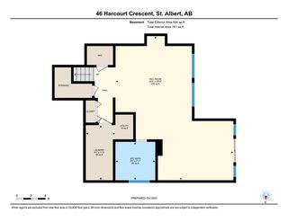 Photo 50: 46 Harcourt Crescent: St. Albert House for sale : MLS®# E4219388