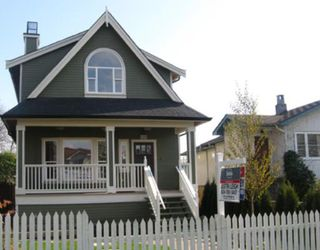 Photo 1: 1262 E 27TH Avenue in Vancouver: Knight House 1/2 Duplex for sale (Vancouver East)  : MLS®# V755472