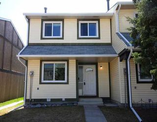 Photo 1:  in CALGARY: Marlborough Park Townhouse for sale (Calgary)  : MLS®# C3376810