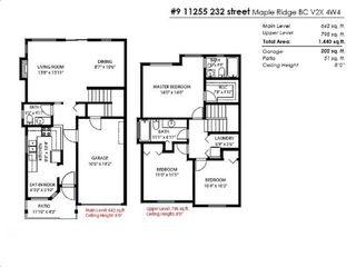 "Photo 20: 9 11255 232 Street in Maple Ridge: Cottonwood MR Townhouse for sale in ""Highfield"" : MLS®# R2402178"