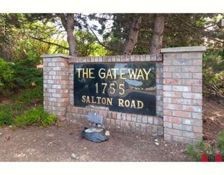 "Photo 2: 204 1755 SALTON Road in Abbotsford: Central Abbotsford Condo for sale in ""The Gateway"" : MLS®# F2905179"