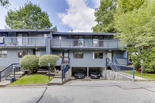 "Photo 1: 3813 PENTLAND Court in Burnaby: Government Road Townhouse for sale in ""WILTSHIRE VILLAGE"" (Burnaby North)  : MLS®# R2469995"