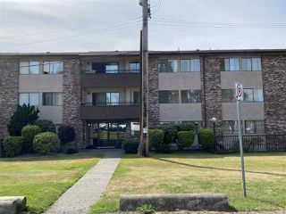 "Photo 1: 208 33956 ESSENDENE Avenue in Abbotsford: Central Abbotsford Condo for sale in ""Hillcrest Manor"" : MLS®# R2490078"