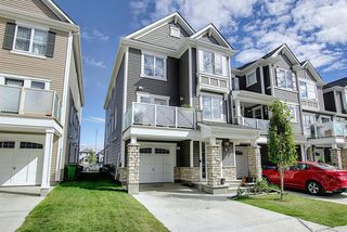 Photo 1: 156 WINDFORD Gardens SW: Airdrie Row/Townhouse for sale : MLS®# A1031848