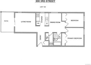 Photo 20: 103 690 3rd St in : Na University District Condo for sale (Nanaimo)  : MLS®# 859591