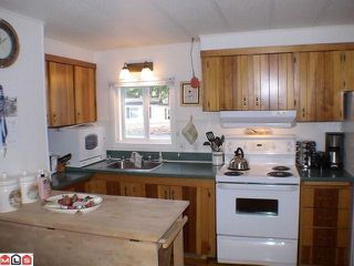 "Photo 2: 38 24330 FRASER Highway in Langley: Otter District Manufactured Home for sale in ""LANGLEY GROVE ESTATES"" : MLS®# F1100700"