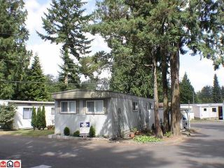 "Photo 1: 38 24330 FRASER Highway in Langley: Otter District Manufactured Home for sale in ""LANGLEY GROVE ESTATES"" : MLS®# F1100700"