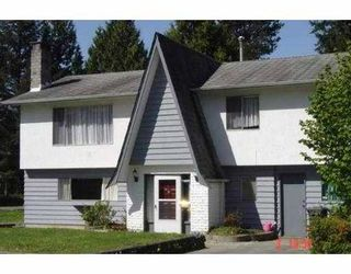 Photo 1: 3609 ST THOMAS ST in Port Coquiltam: Lincoln Park PQ House for sale (Port Coquitlam)  : MLS®# V586447