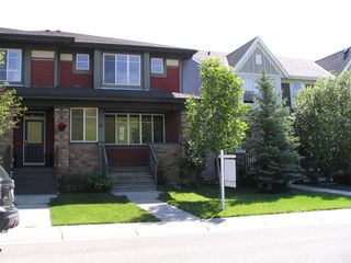 Main Photo: 25 CHAPARRAL VALLEY Park SE in Calgary: Chaparral Semi Detached for sale : MLS®# A1020575