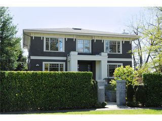 """Photo 1: 2598 W 37TH Avenue in Vancouver: Kerrisdale House for sale in """"KERRISDALE"""" (Vancouver West)  : MLS®# V821565"""