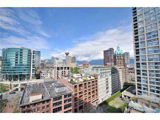 Photo 1: 1802 188 KEEFER Place in Vancouver: Downtown VW Condo for sale (Vancouver West)  : MLS®# V824767