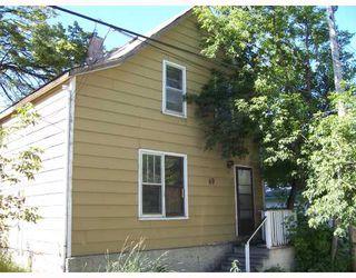 Photo 1: 69 PRINCE EDWARD Street in WINNIPEG: North End Residential for sale (North West Winnipeg)  : MLS®# 2814575
