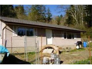 Photo 1:  in SOOKE: Sk Kemp Lake House for sale (Sooke)  : MLS®# 390965