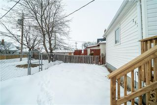 Photo 28: 252 UNION Avenue West in Winnipeg: Elmwood Residential for sale (3A)  : MLS®# 202004978
