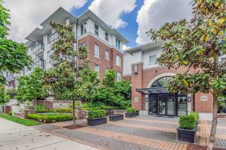 "Main Photo: 412 9399 ODLIN Road in Richmond: West Cambie Condo for sale in ""MAYFAIR PLACE"" : MLS®# R2481099"